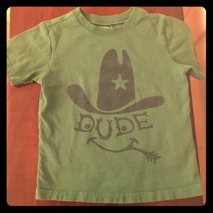 4T boys Babygap Dude T-shirt
